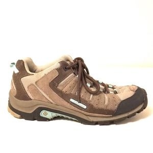 Columbia Pima women's hiking trail shoes sz 9 EUC